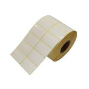 لیبل کاغذی 45*30 دو ردیفه