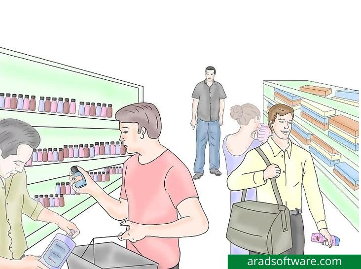 دزد فروشگاه : مراقب سرقت گروهی باشید