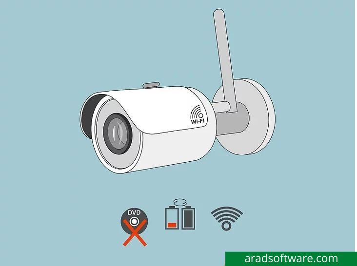 اگر نصب آسان می خواهید سراغ دوربین های بی سیم بروید.