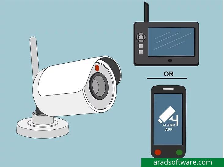 یک سیستم دوربین مداربسته با هشدار نصب کنید تا بتوانید از هر مشکلی مطلع شوید.